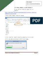 Menginstall MYSQL SERVER 5.6 Pada Windows 8