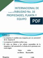 Casos Practicos NIC 16 Propiedad Planta y Equipo
