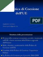 Politica di coesione UE 2014-2020 11 dicembre 2013.ppt