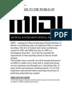 MIDI Booklet
