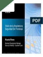 Cisco Vision de Arquitectura Sin Fronteras