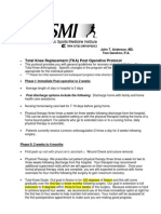 TKA PT Rehab Protocol