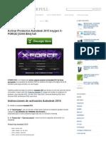 Xforce keygen autocad 2015 32 bit free download