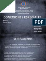 Metalicas II- Conexiones Especiales.