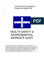 Cfmeu Health and Safety Audit