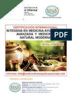 Certificacion Medicina Ayurvédica