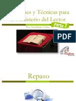 Funciones y Técnicas Para El Ministerio Del Lector_Parte 2