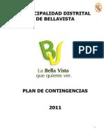 Plan de Contingencias Municipalidad Distrital Bellavista