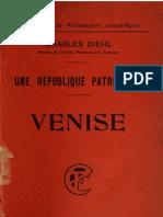 Une Republique Patricienne Venise