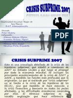 Crisis Subprime 2007