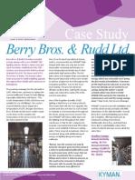 Berry Bros Rudd Case Study
