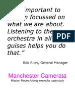 Manchester Camerata - MMM Exemplar Case Study