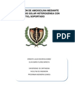 Anteproyecto TiO2 Soportado Para Eliminar Amoxicilina 03-05-2012
