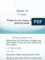 week 10-7th grade