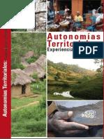 Autonomías territoriales