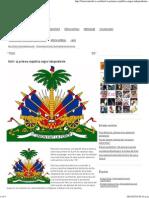 Haití_ La Primera República Negra Independiente