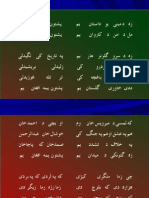 Pashto Poem New Era by Mir Wais English Translation