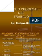 Derecho Procesal Laboral Colectivo