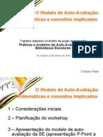 O Modelo de Auto-Avaliação_Cristina Filipe