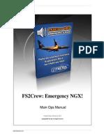 FS2Crew Emergency NGX