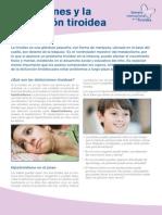 Los Jóvenes y La Disfunción Tiroidea