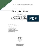 03 El Vivir Bien Como Respuesta a La Crisis Global