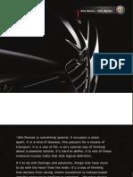 Alfa BreraSpider Brochure