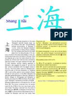 Shanghai et Haishang