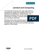 Factsheet Vision Computing