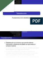 Presentacion Tema 1 Fundamentos Fisicos de La Teledeteccion