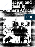 Racism and Apartheid in Southern Africa