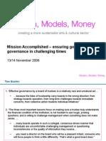 Governance Roadshow Participant Handout (MMM 2006)