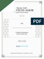 Mil Veces Amor (Vals)