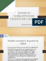 Modelos Normativos de Gct Rm