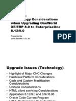 upgrading enterpriseone - gsi - michigan user group