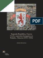 SegundaRepublica GuerraCivil RepresionfranquistaPadules(1931-1945)
