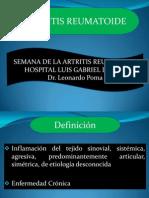 AR, artritis reumatodea tratamiento diagnostico y control