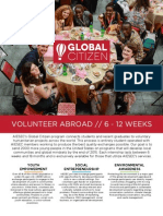 aiesec global citizen 2 pager