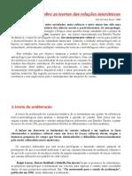 APRESENTACAO - Teorias Das Relacoes Interetnicas