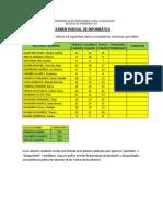 Examen Parcial Informática 2014-II