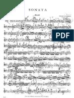 F. Schubert - Arpeggione-Sonate (Ed. Streicher) - double bass -  Contrabajo