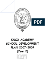 Draft Development Plan 2007-09 YEAR 2