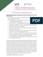 MMM kick-off research (Demographics, 2005)