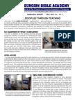 ABA Quarterly Report - Fall 2014