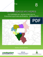 Demografia Em Foco 8 - Jovens Negros e Não Negros - Mortalidade Por Causas Externas Na AMB - 200-2012