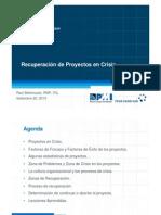 2013 05a R.bellomusto Recuperacion Proyectos en Crisis