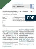 Journal of Banking & Finance Volume 37 Issue 12 2013 [Doi 10.1016%2Fj.jbankfin.2013.08.028] Dunis, Christian; Kellard, Neil M.; Snaith, Stuart -- Forecasting EUR–USD Implied Volatility