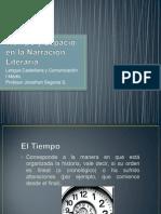 tiempoyespacioenlanarracinliteraria-110903110114-phpapp01