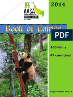 Wildlife Vaasa Festival- Book of Entries 2014