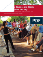 Diabetes Prevention Report